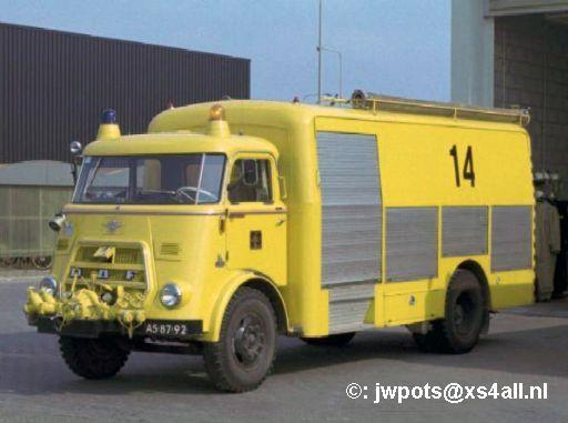 1966 DAF A1600 Schiphol