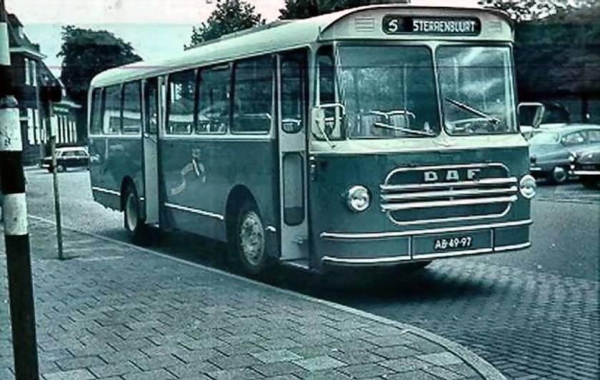 1966 Daf bus