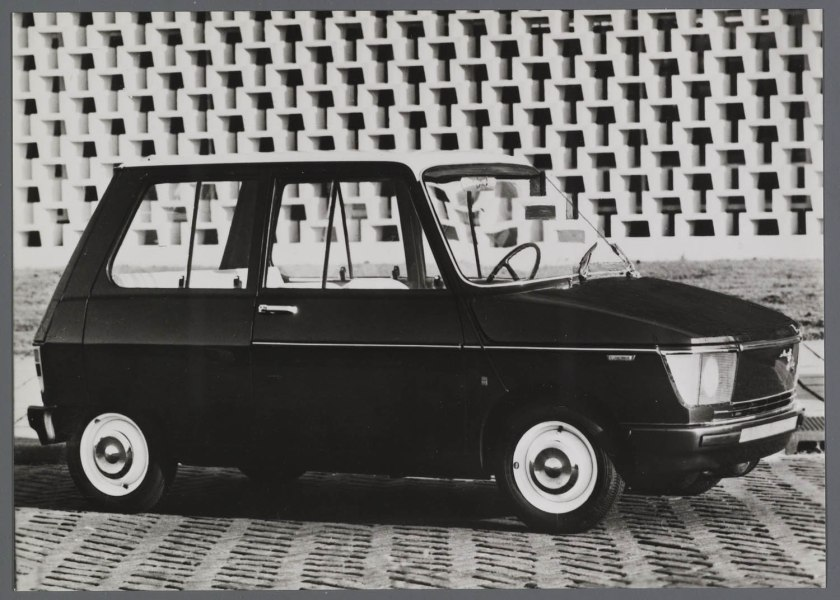 1966 DAF City concept car b