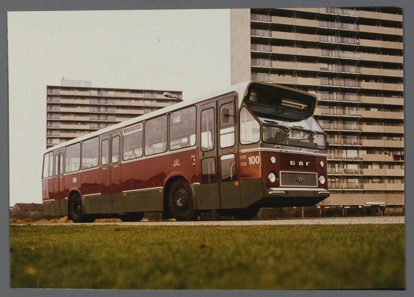 1966 DAF CSA 1 Standaardbus met Hainje carr GVB A'dam