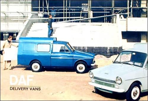 1966 DAF delivery