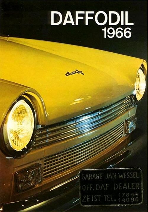 1966 Daf fodil reklama