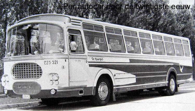 1966 DAF MB200 carr Verleure