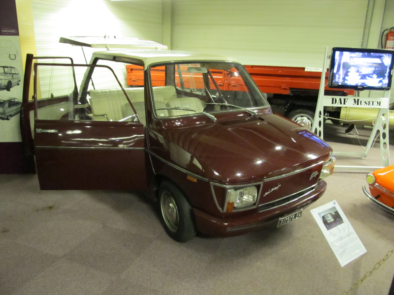 1966 DAF OSI City concept car