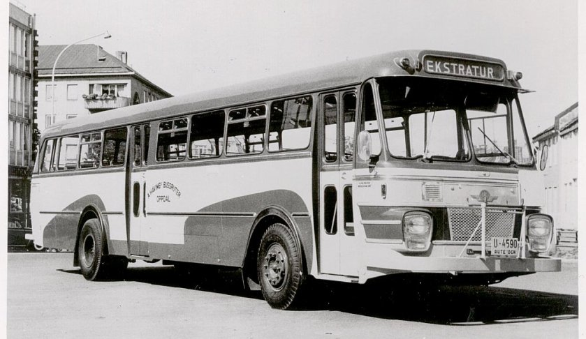 1966 DAF TB160 - Bjarne Berg