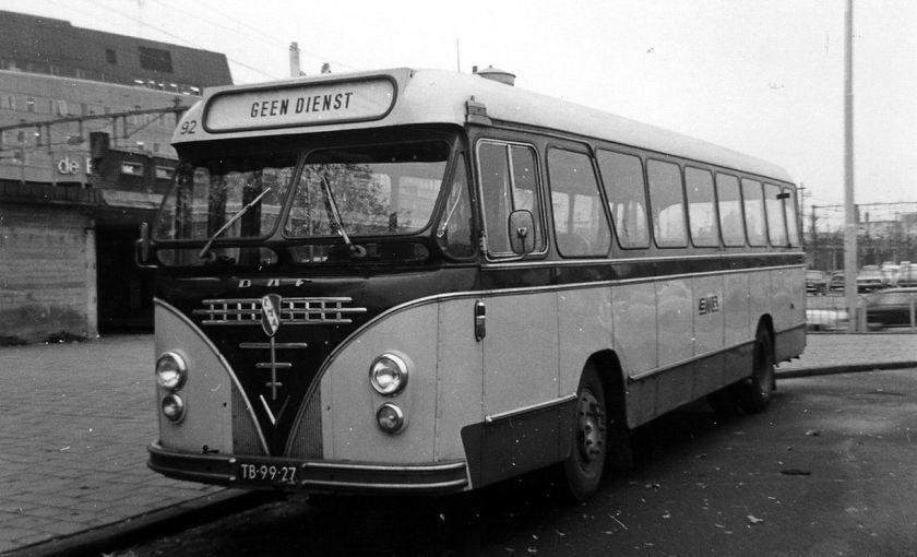 1966 DAF Verheul EMA bus 92 Eindhoven NS