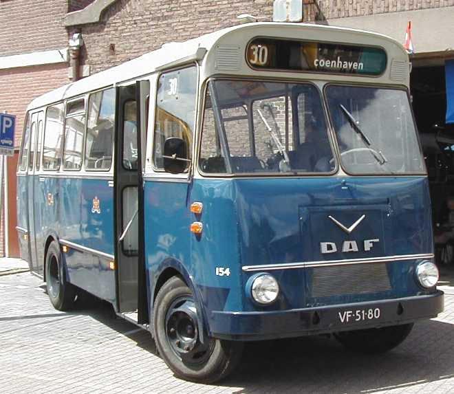 1966 VERHEUL MODELE  DAF