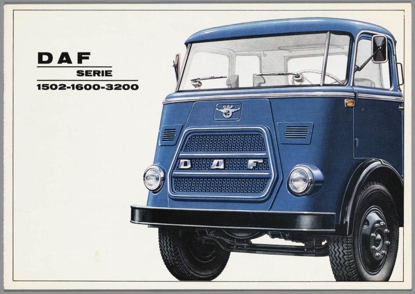 1967 DAF 1502, 1600, 3200 serie a