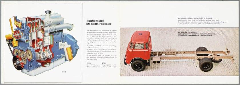 1967 DAF 1502, 1600, 3200 serie c