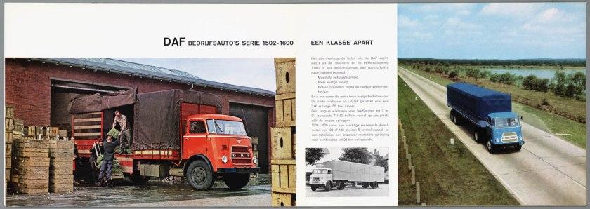 1967 DAF 1502, 1600, 3200 serie d