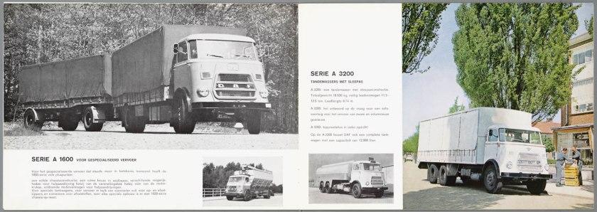 1967 DAF 1502, 1600, 3200 serie e
