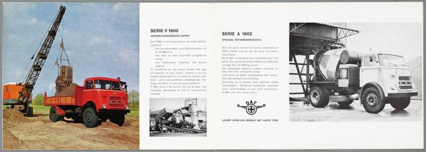 1967 DAF 1502, 1600, 3200 serie f