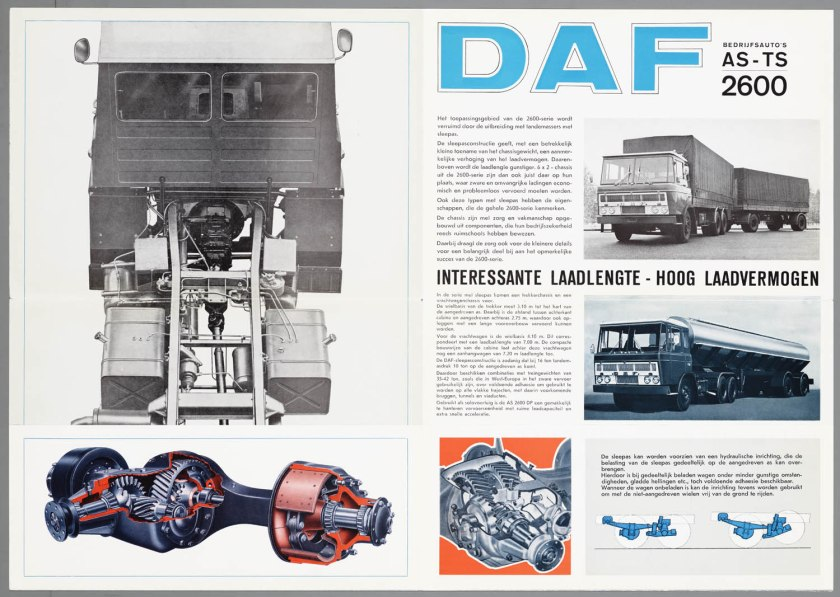 1967 DAF 2600 6x2 AS-TS c