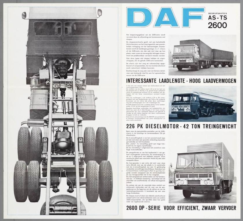 1967 DAF 2600 6x2 AS-TS d