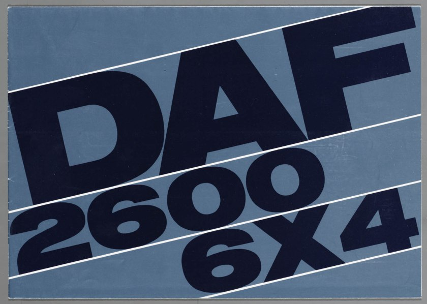 1967 DAF 2600 6x4 TT-AT a