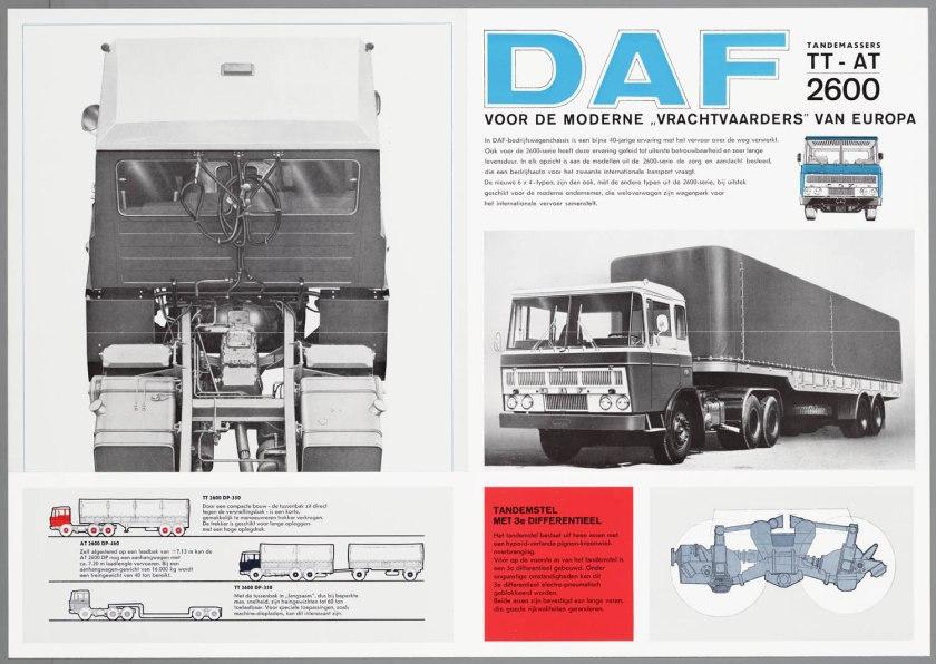1967 DAF 2600 6x4 TT-AT c