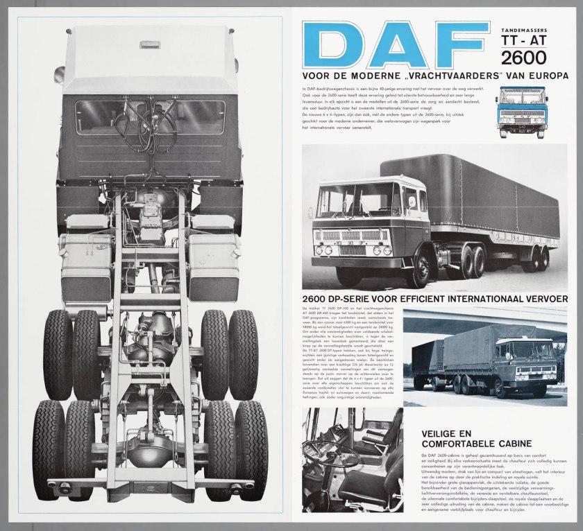 1967 DAF 2600 6x4 TT-AT d