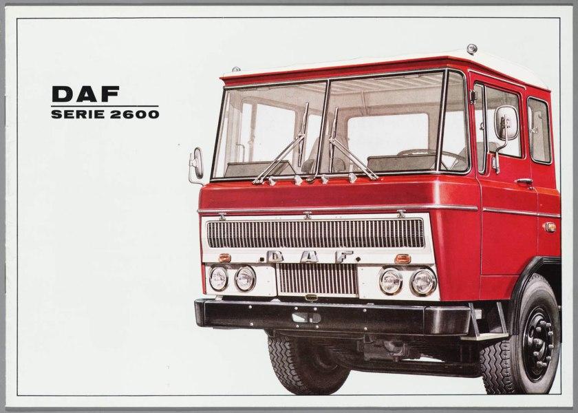 1967 DAF 2600 a