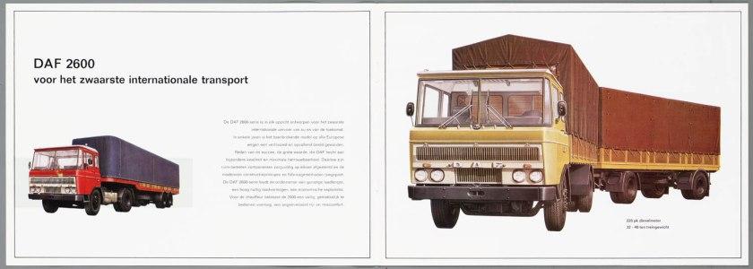 1967 DAF 2600 b