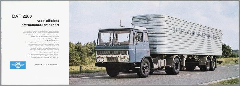 1967 DAF 2600 d