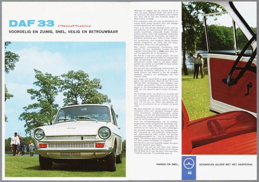 1967 DAF 33 b