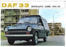1967 Daf 33 Bestelauto