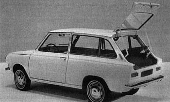 1967 DAF 44 kombi
