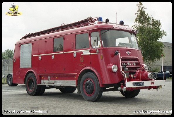 1967 DAF A1300 BA360 Bedrijfsbrandweer Kappa Eskaboard Hoogezand