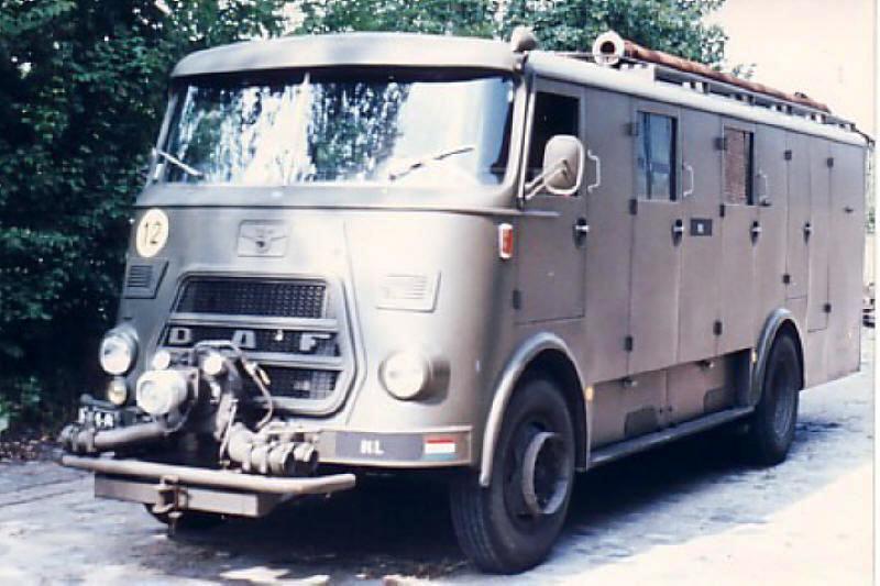 1967 DAF A1300 ex Min van BiZ BB