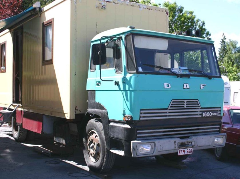1968 DAF 1600 Turbo