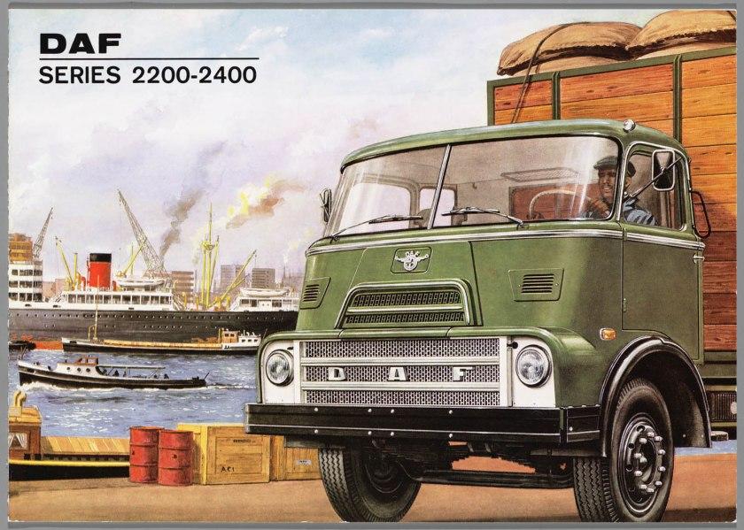 1968 DAF 2200-2400 series a