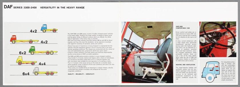1968 DAF 2200-2400 series b