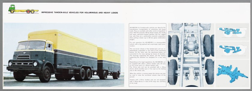 1968 DAF 2200-2400 series f