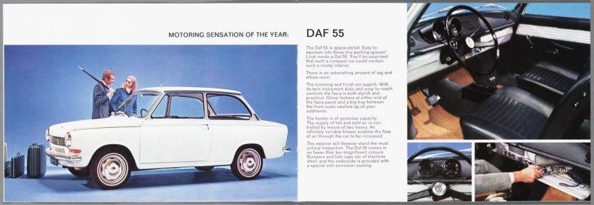 1968 DAF 33, 44, 55 Sedan, 33 Bestel, 44 Combi c