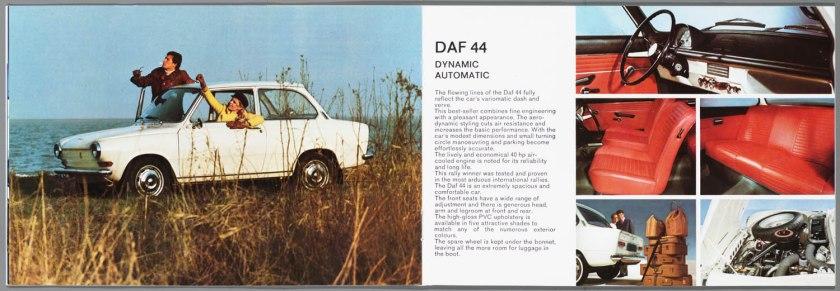 1968 DAF 33, 44, 55 Sedan, 33 Bestel, 44 Combi e
