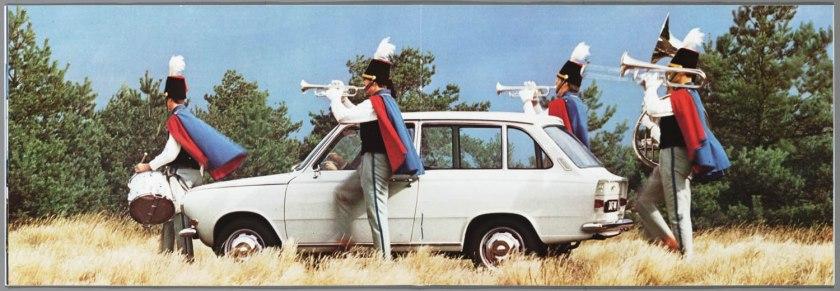 1968 DAF 33, 44, 55 Sedan, 33 Bestel, 44 Combi f