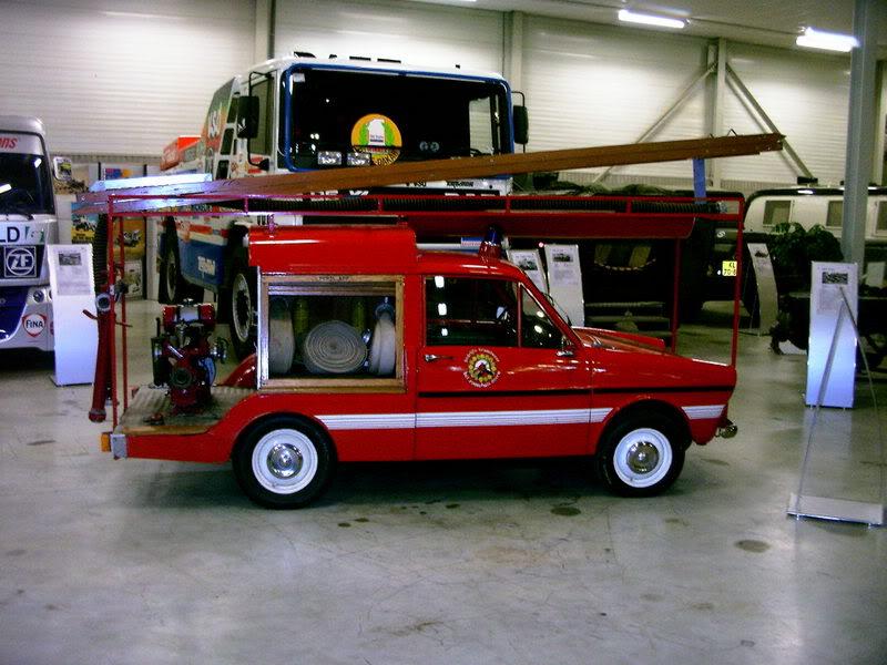 1968 DAF 33 Bestel Brandweer