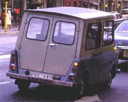 1968 Daf 33 onderstel opbouw zweden Kalmar