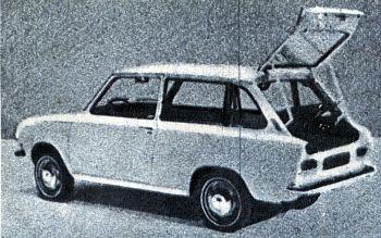 1968 DAF 44 kombi