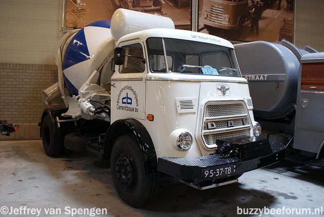 1968 daf 46 Cementwagen