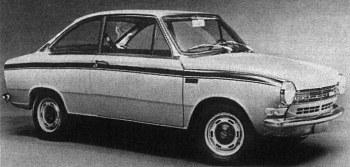 1968 DAF 55 marathon coupe