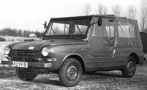 1968 DAF 55 YA 2