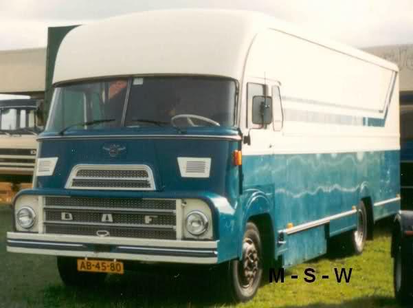 1968 DAF A 1600 DD AB-97-42.