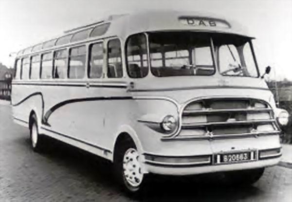 1968 DAF A 1600 DD