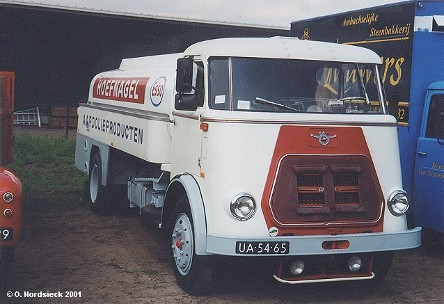 1968 DAF A 1600 Heizöl-Tankwagen