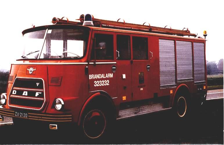 1968 Daf Brandweer Truck