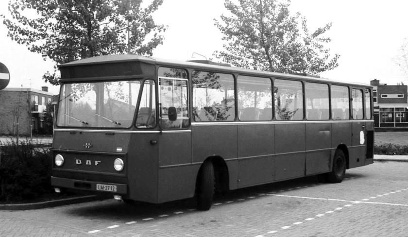 1968 DAF-Hainje, waarschijnlijk ook  Wim Vink