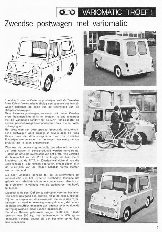 1968 DAF KALMAR Folder