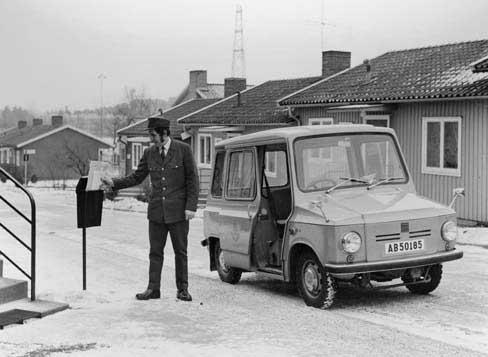 1968 Daf Kalmar Post Zweden