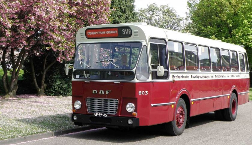1968 DAF MB200 - ZABO BBA 603 Autobus
